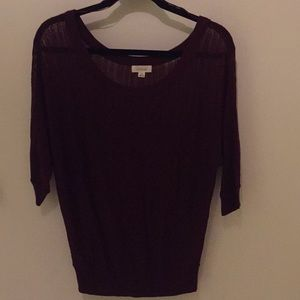 Burgundy Sweater from Aerie Size Medium